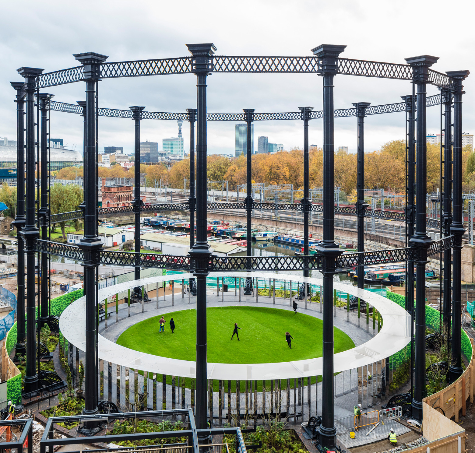 Gasholder Park open to visitors