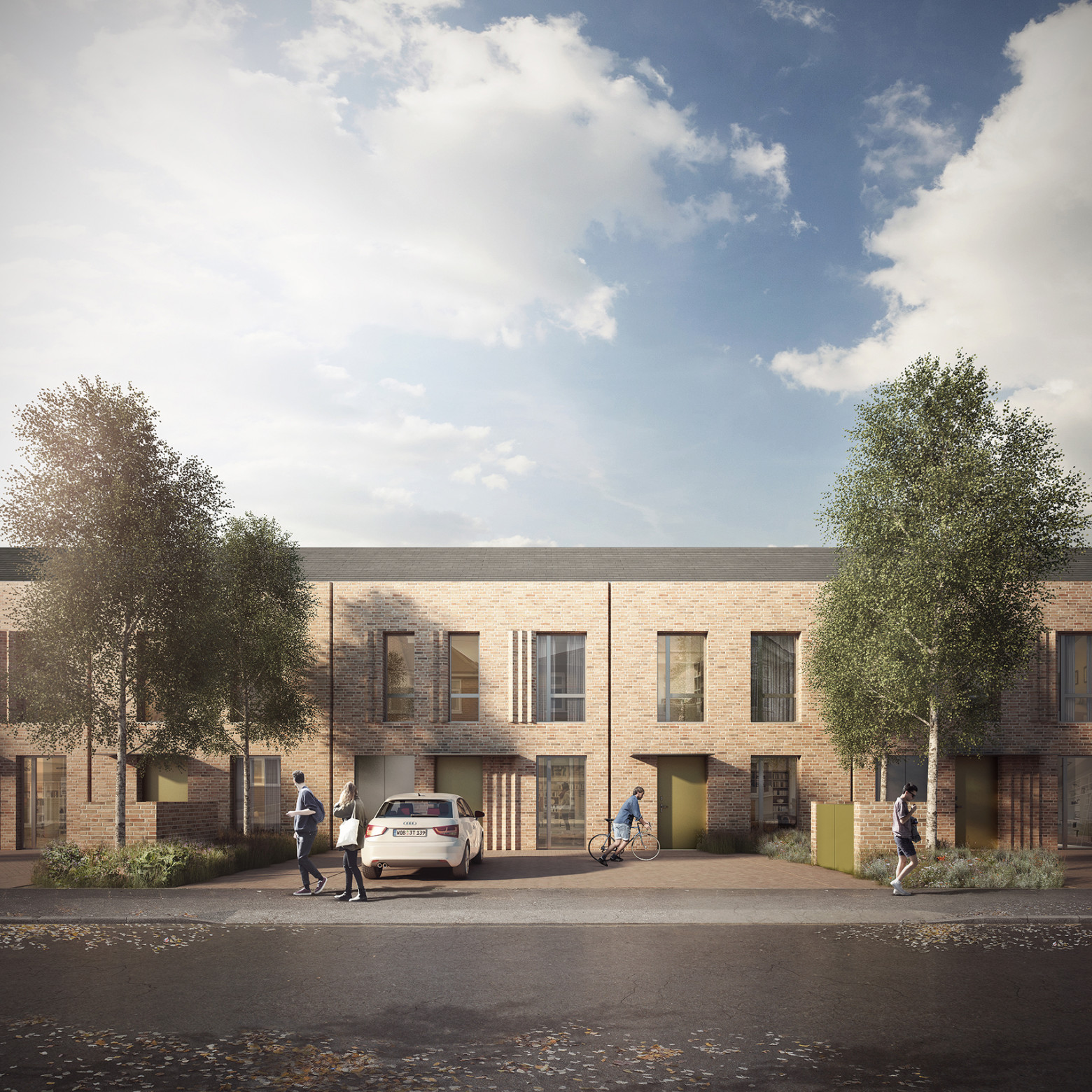 Detailed planning consent for Lombard Court