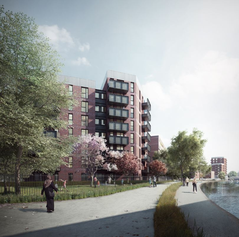 Council housing starts on site in Tower Hamlets