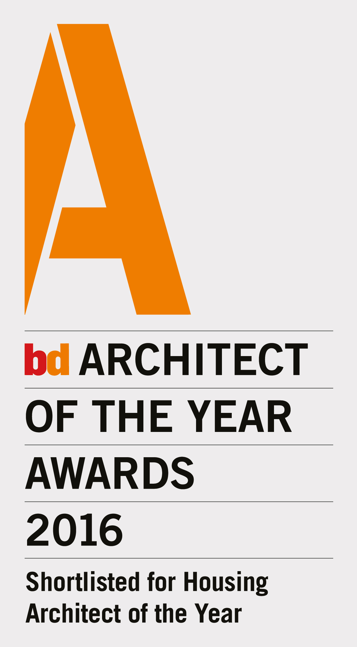 BPA shortlisted in Architect of the Year Awards