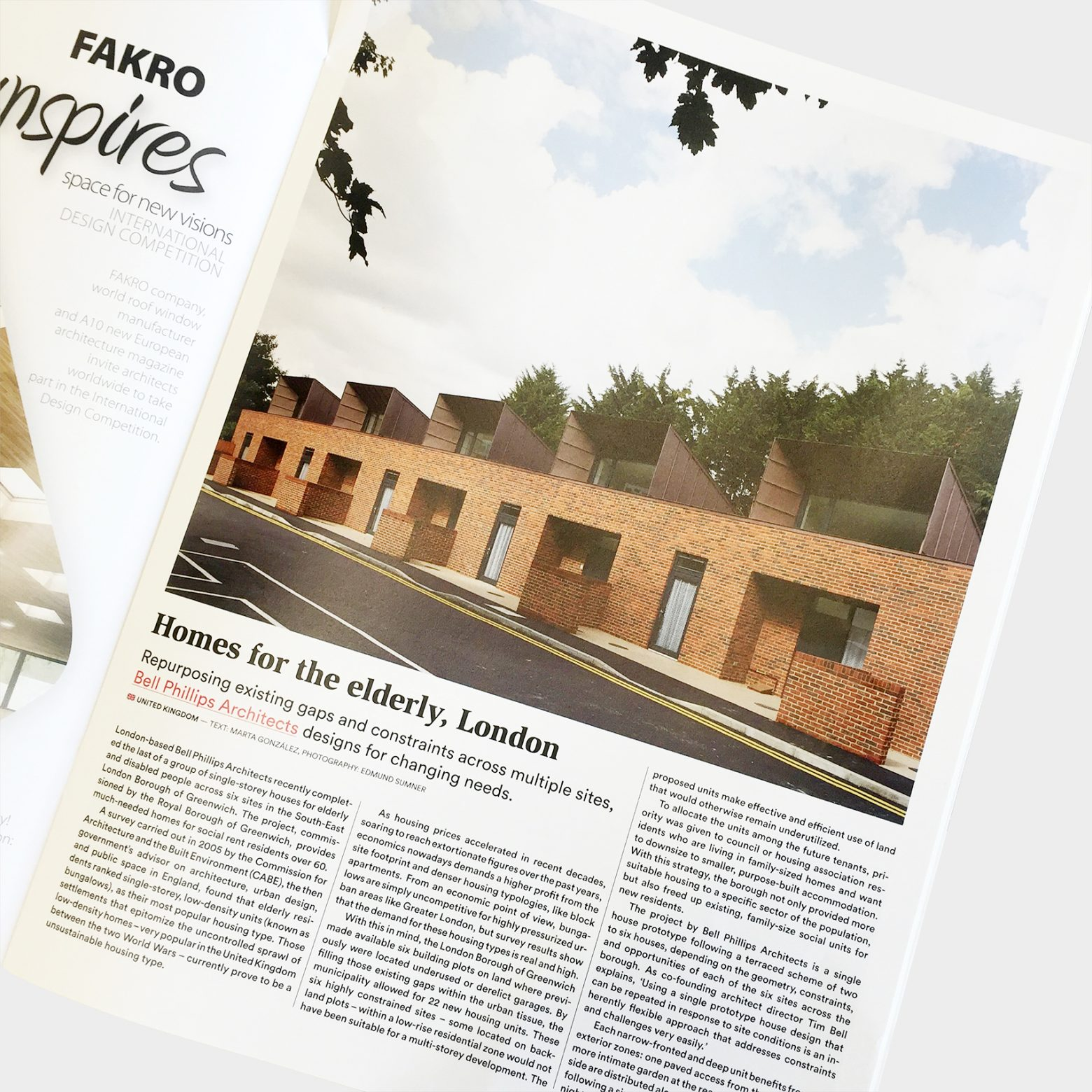 Greenwich Housing featured in A10 magazine