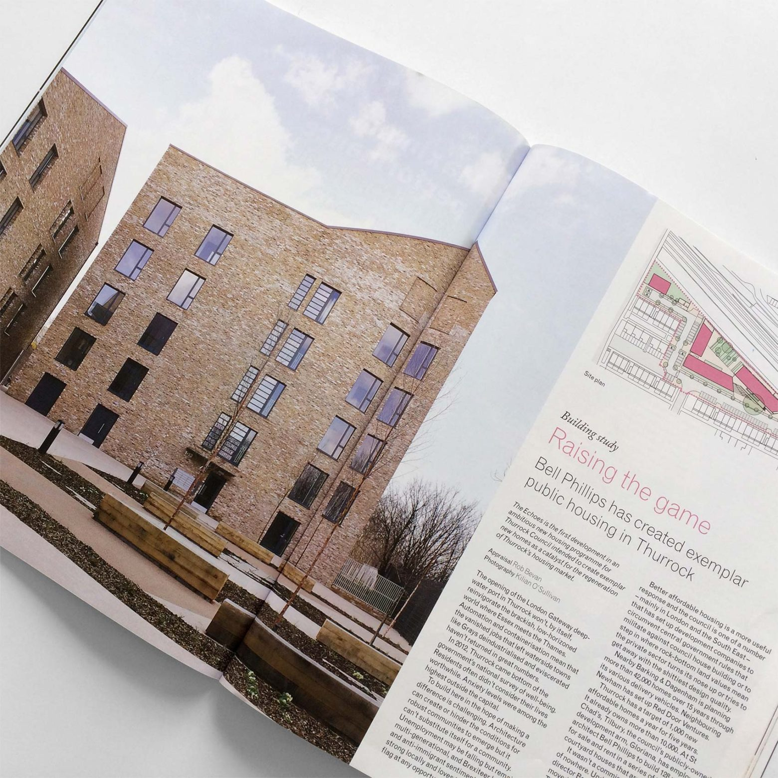 The Echoes and Bracelet Close feature in The Architects Journal