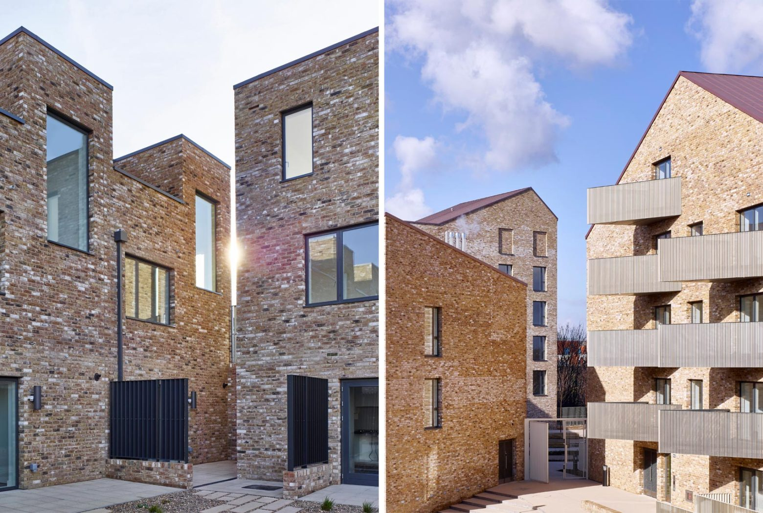 Three projects shortlisted for the Housing Design Awards