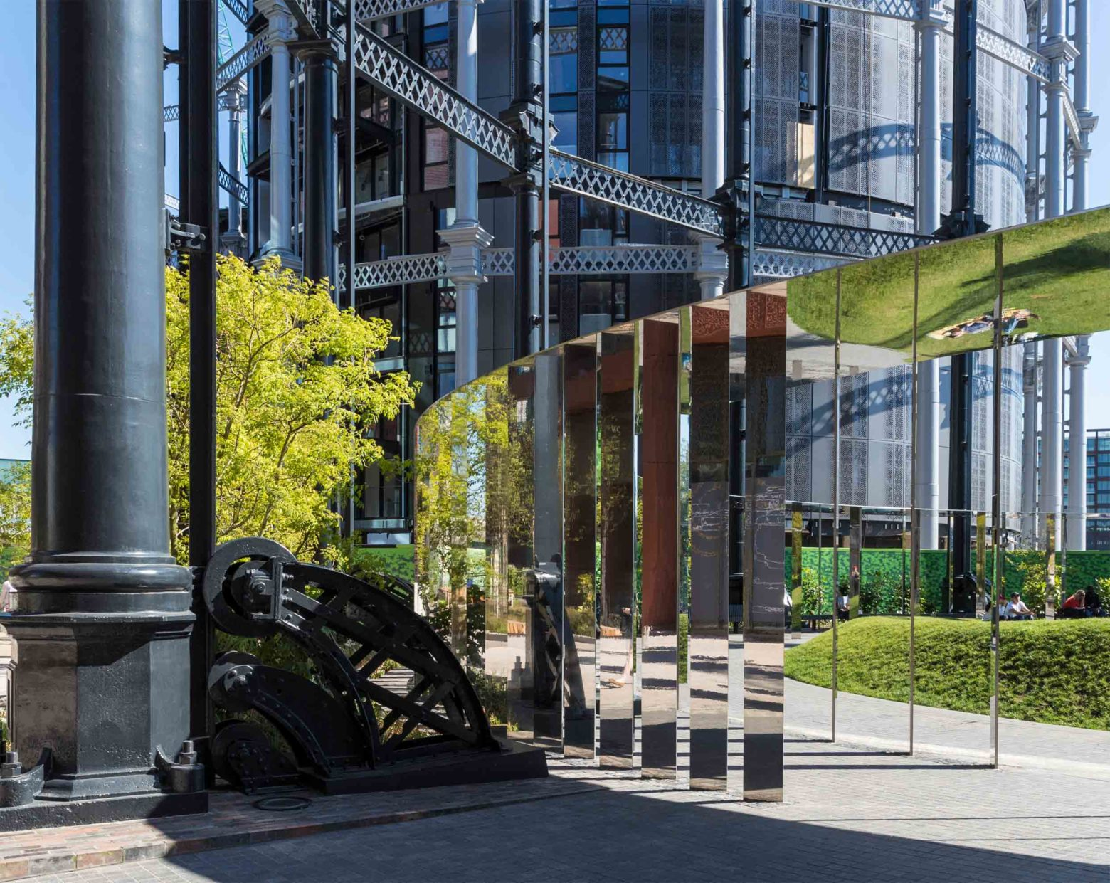 Gasholder Park selected as one of seven 'architectural wonders'