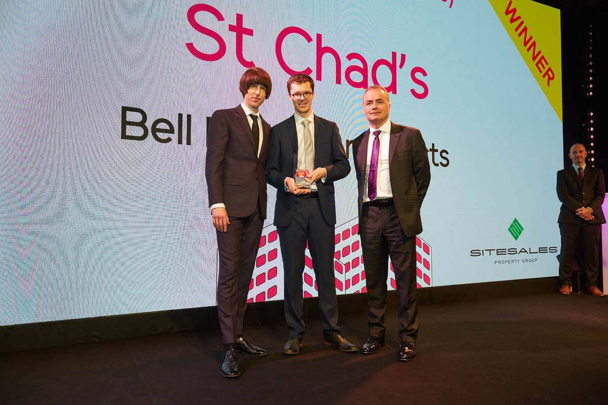 St Chad's wins at the Inside Housing Development Awards 2018