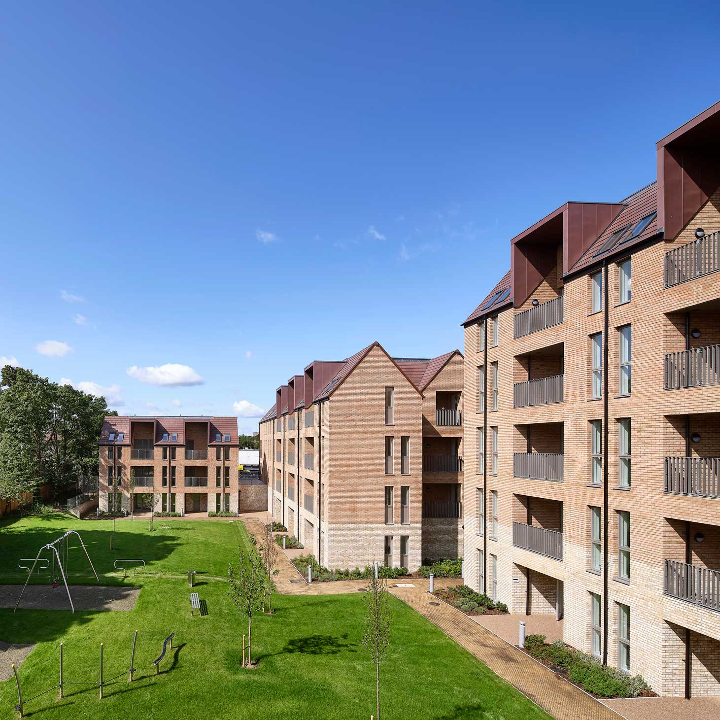 Three projects completed in Sutton