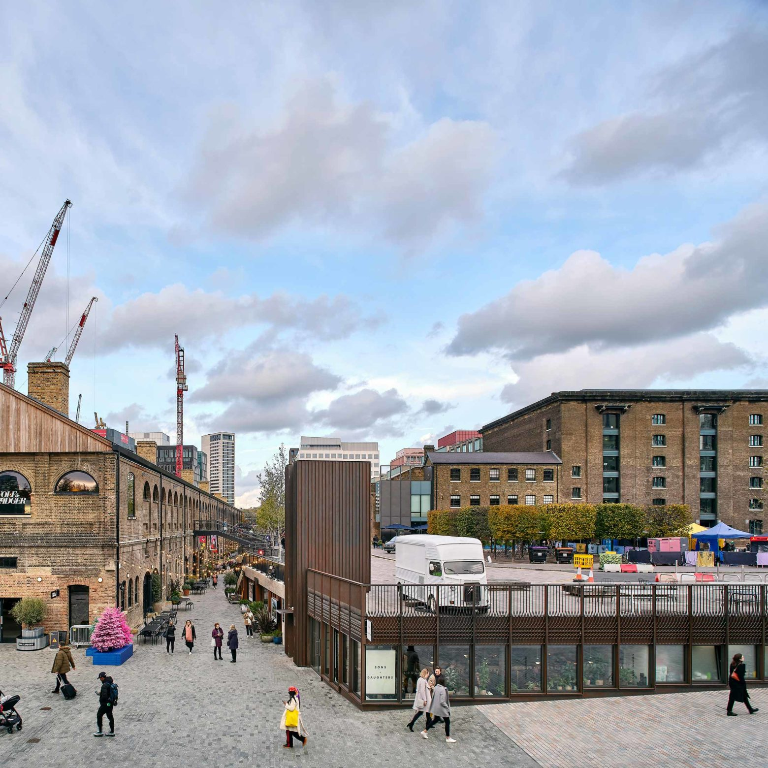 Pavilion in King's Cross completed